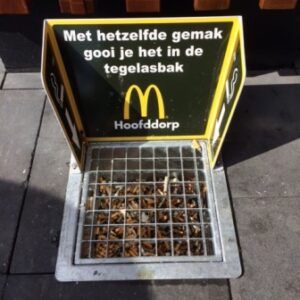 Asbaktegel 300 Easy MacDonald's